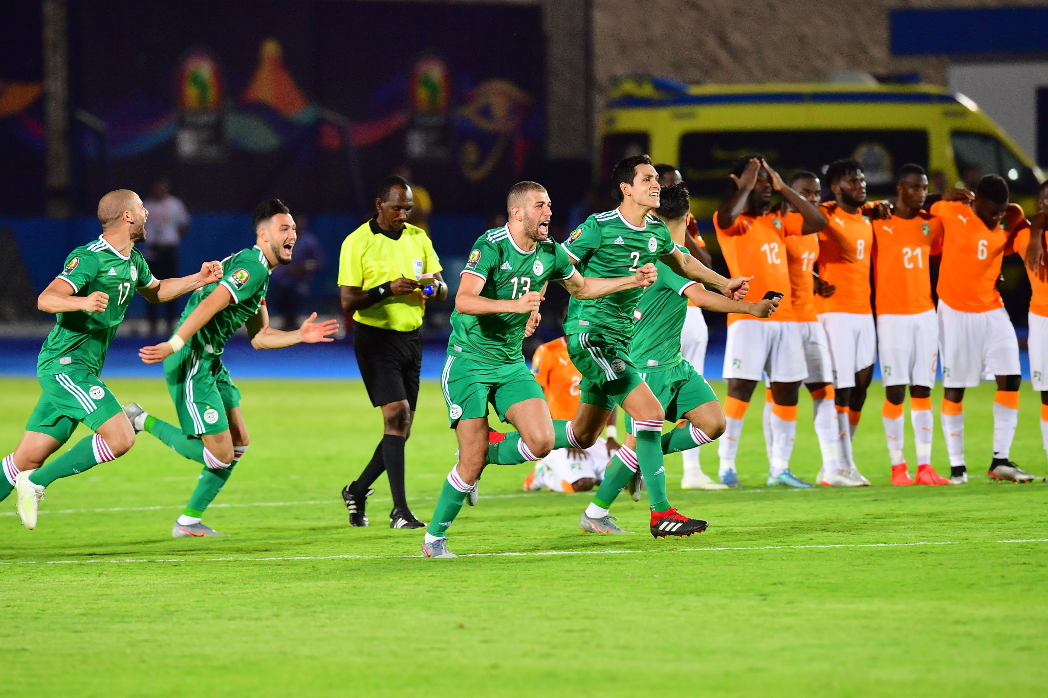 Algeria make Ivory Coast pay the penalty at Africa Cup of Nations