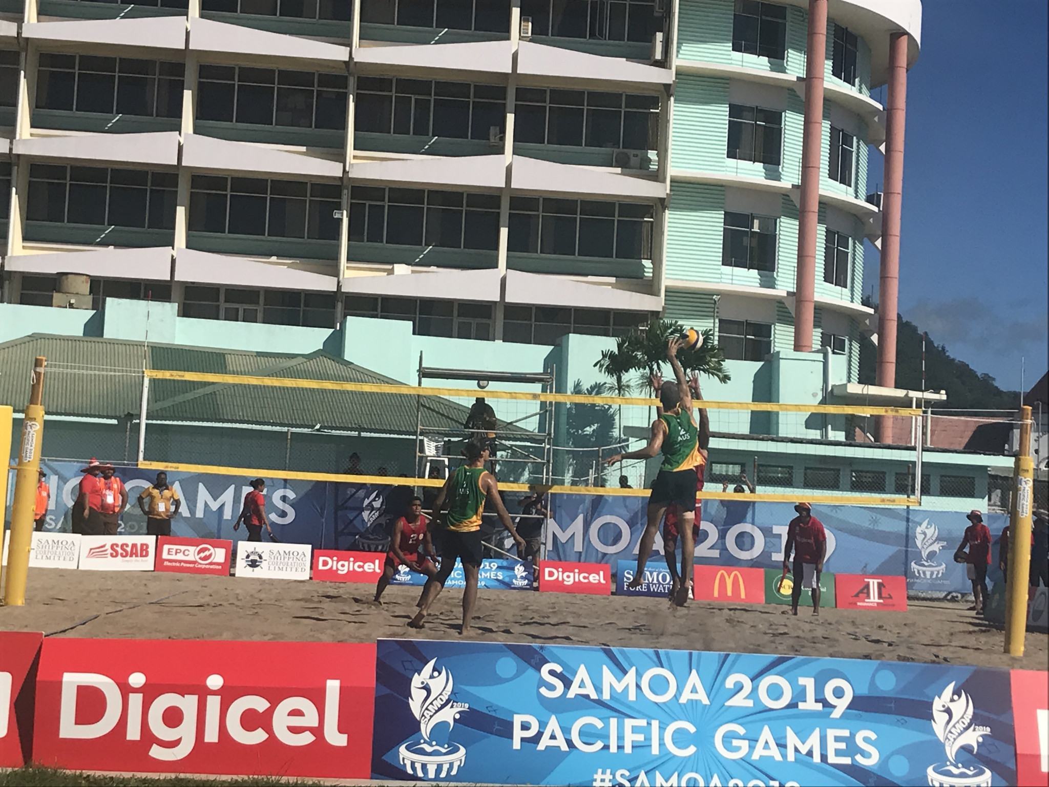 Australia overcome injury to win 2019 Pacific Games men's beach volleyball as Vanuatu triumph in women's event