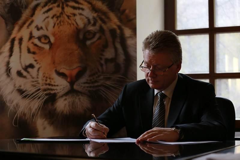"""Sambo signs agreement with """"Amur tiger"""" Centre as push for IOC recognition continues"""