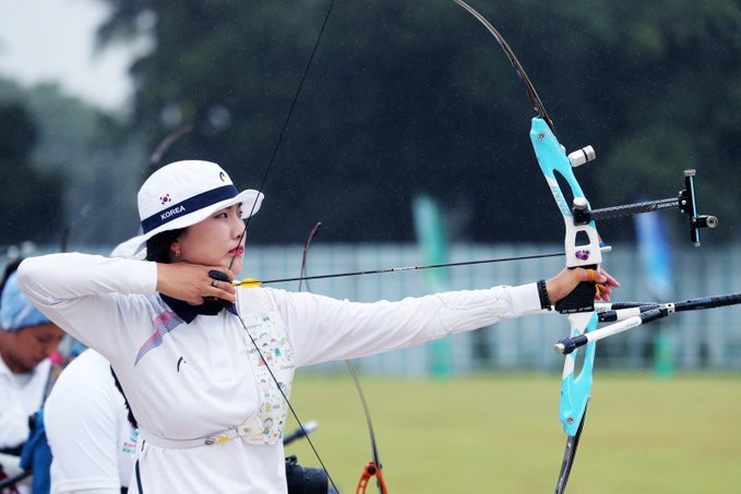 South Koreans dominate recurve qualification at Tokyo 2020 archery test event