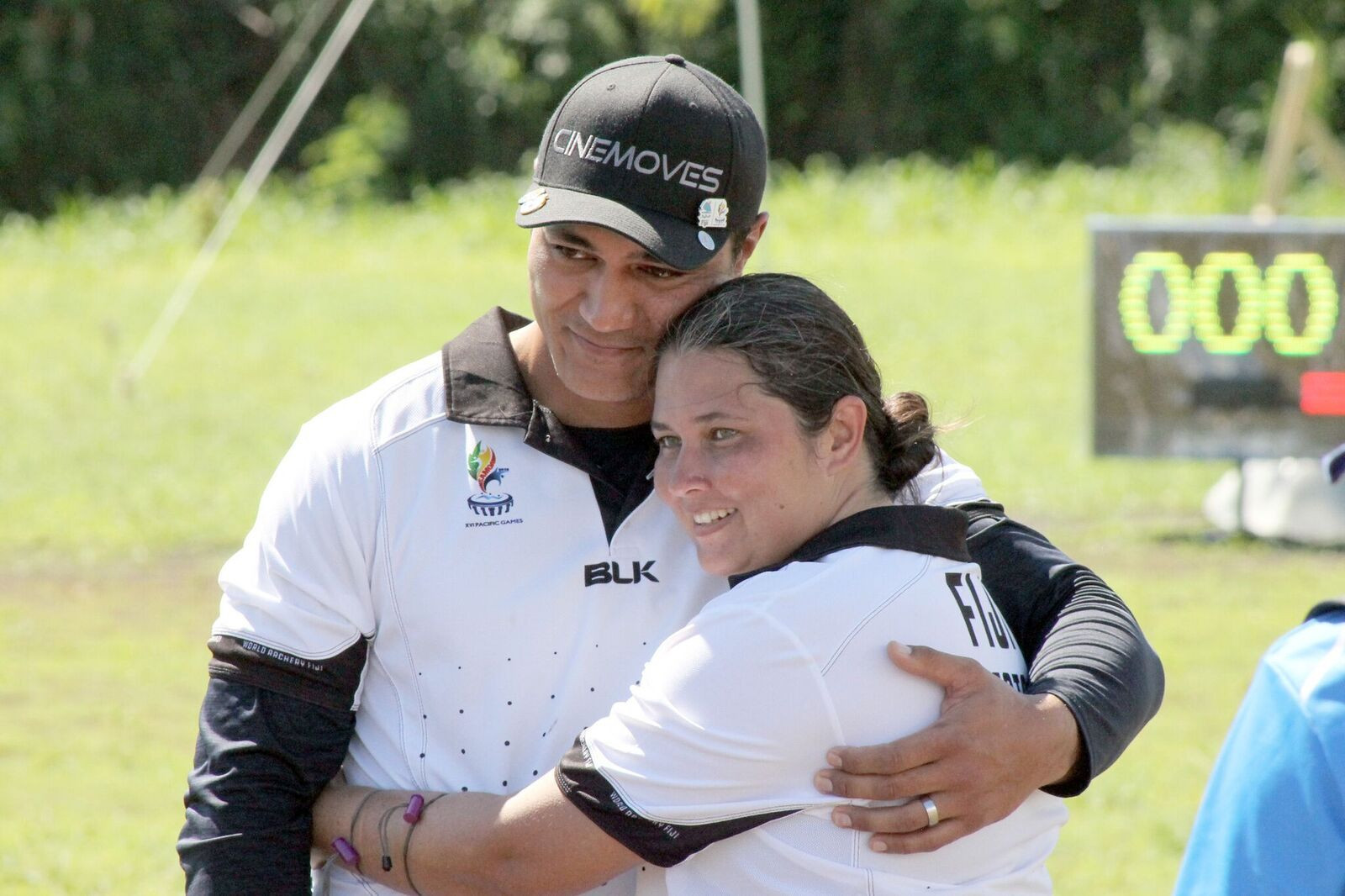 Fijian husband and wife win three medals in archery at 2019 Pacific Games