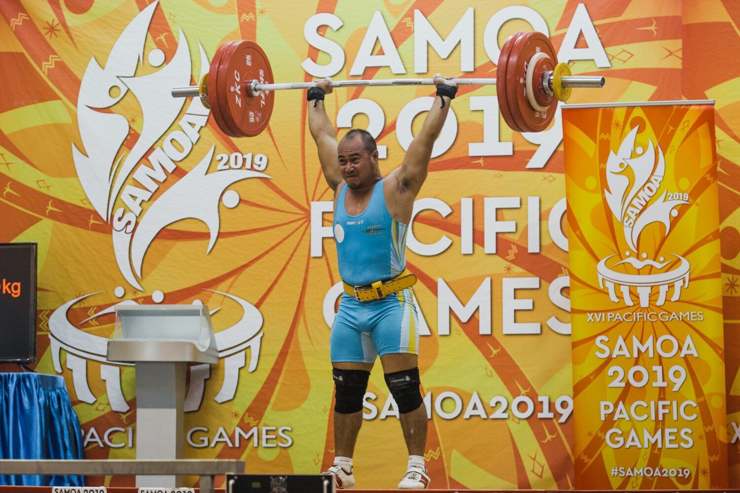 Plenty more medals were dished out at Gym 1 in the weightlifting ©Samoa 2019