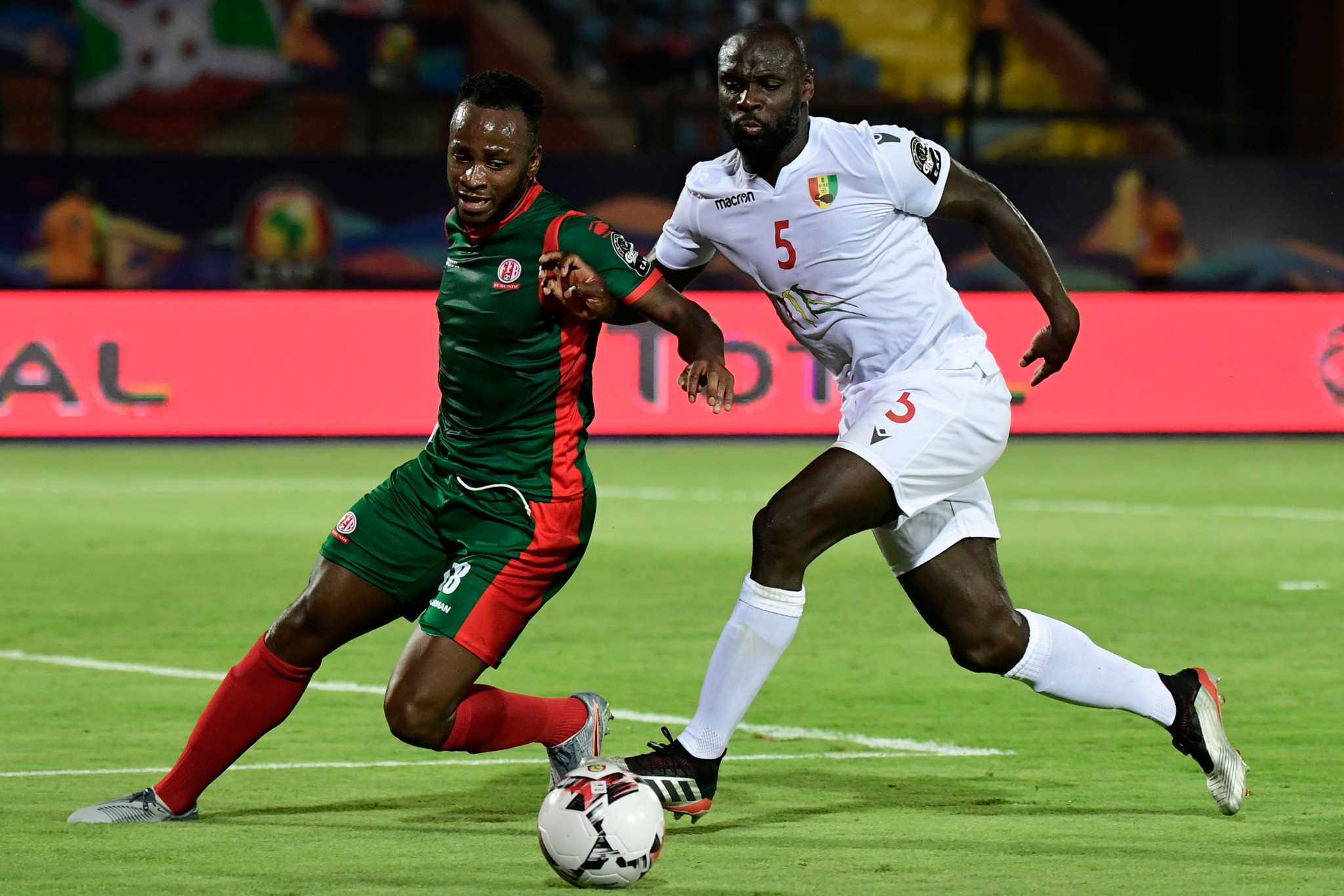 Burundi lost all three of their matches at their first Africa Cup of Nations ©Getty Images