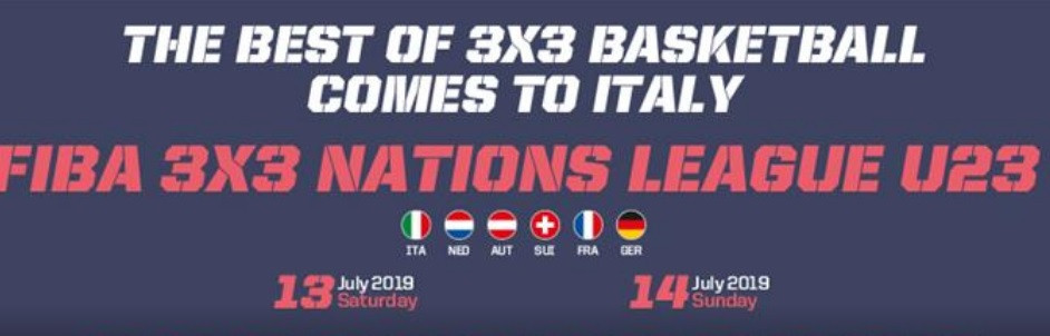 Italy set to stage fifth event of FIBA 3x3 Women's Series