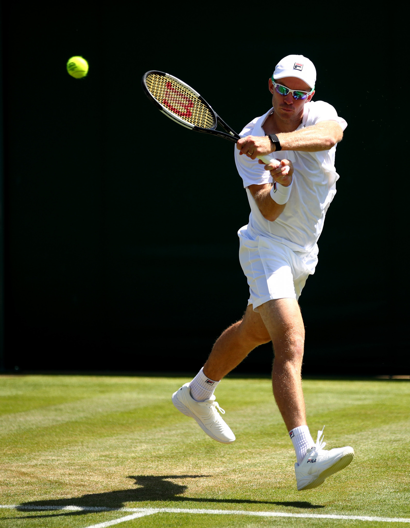 John Peers of Australia played his part in winning the first final-set tiebreak at Wimbledon ©Getty Images