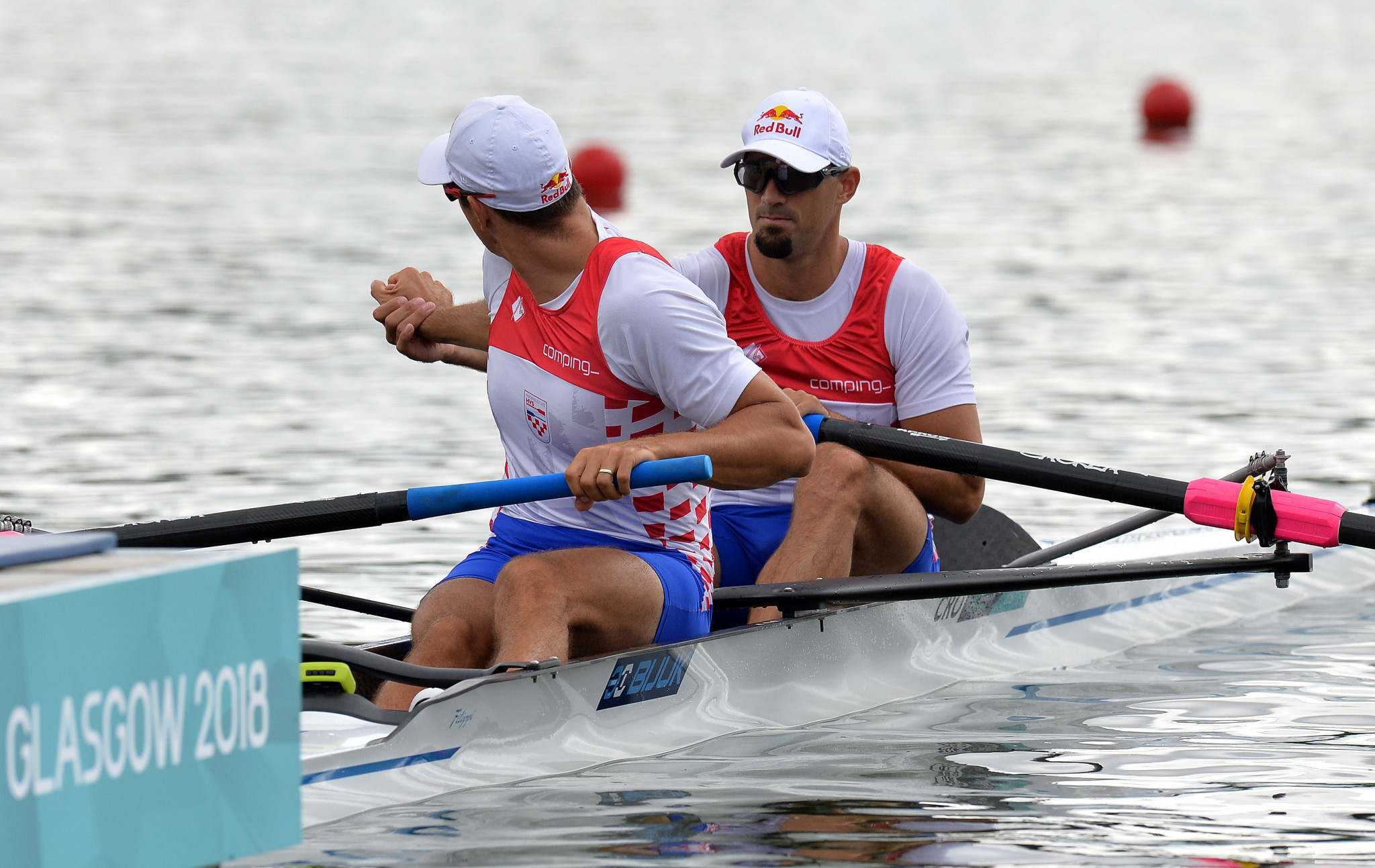 World champions Martin and Valent Sinković of Croatia were among the qualifiers in the men's pair event ©Getty Images