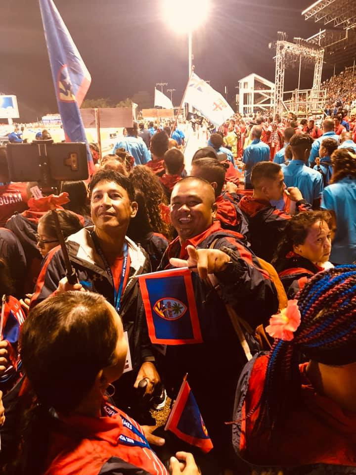 Guam has sent a team of around 150 athletes to the 2019 Pacific Games in Samoa ©Facebook