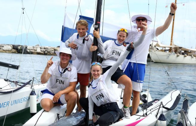 Finland in cruise control to grab first Naples 2019 gold medal