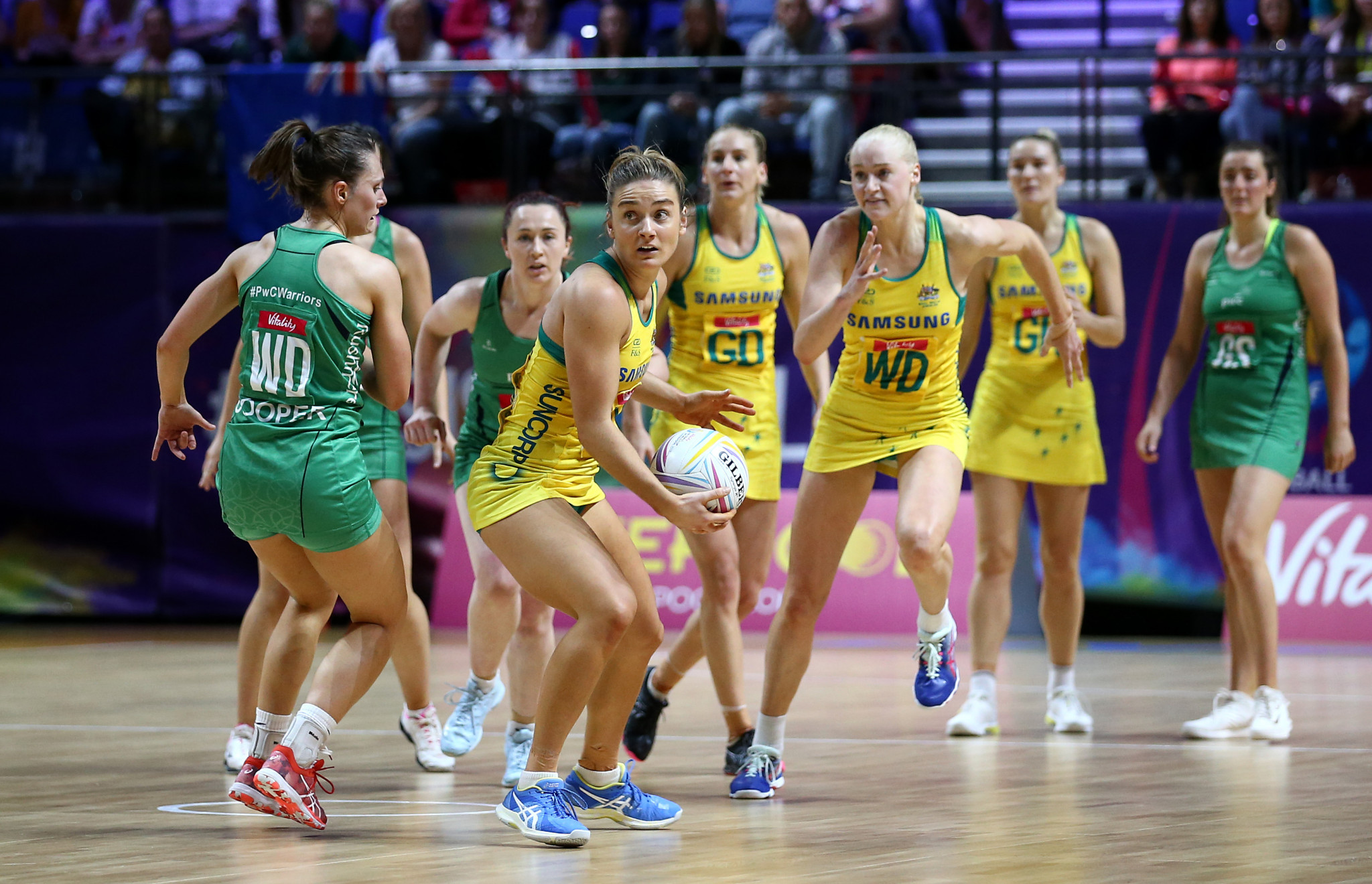 Dominant Australia begin Netball World Cup in style