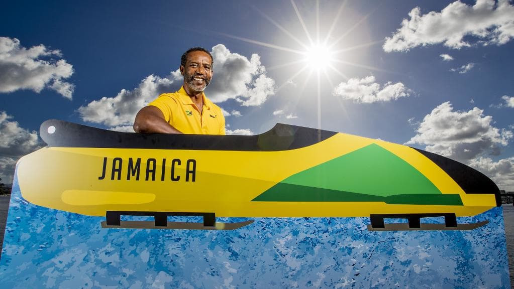 amaica Bobsleigh and Skeleton Federation President Chris Stokes - one of the original