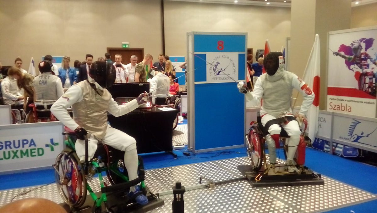 Zou and Logutenko claim second golds at IWAS Wheelchair Fencing World Cup