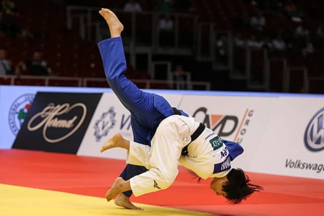 Asian domination on opening day of IJF Grand Prix in Budapest