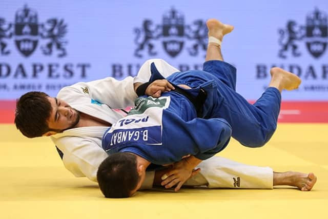 Kazakhstan's Yeldos Smetov came out on top in the men's under-60kg category ©IJF