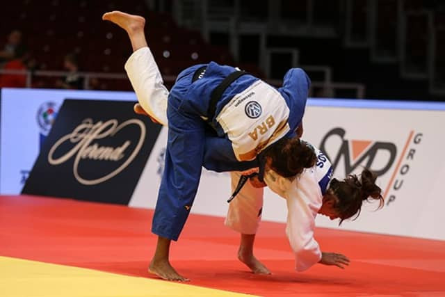 Brazil's Rafaela Silva was the only non-Asian gold medallist today ©IJF