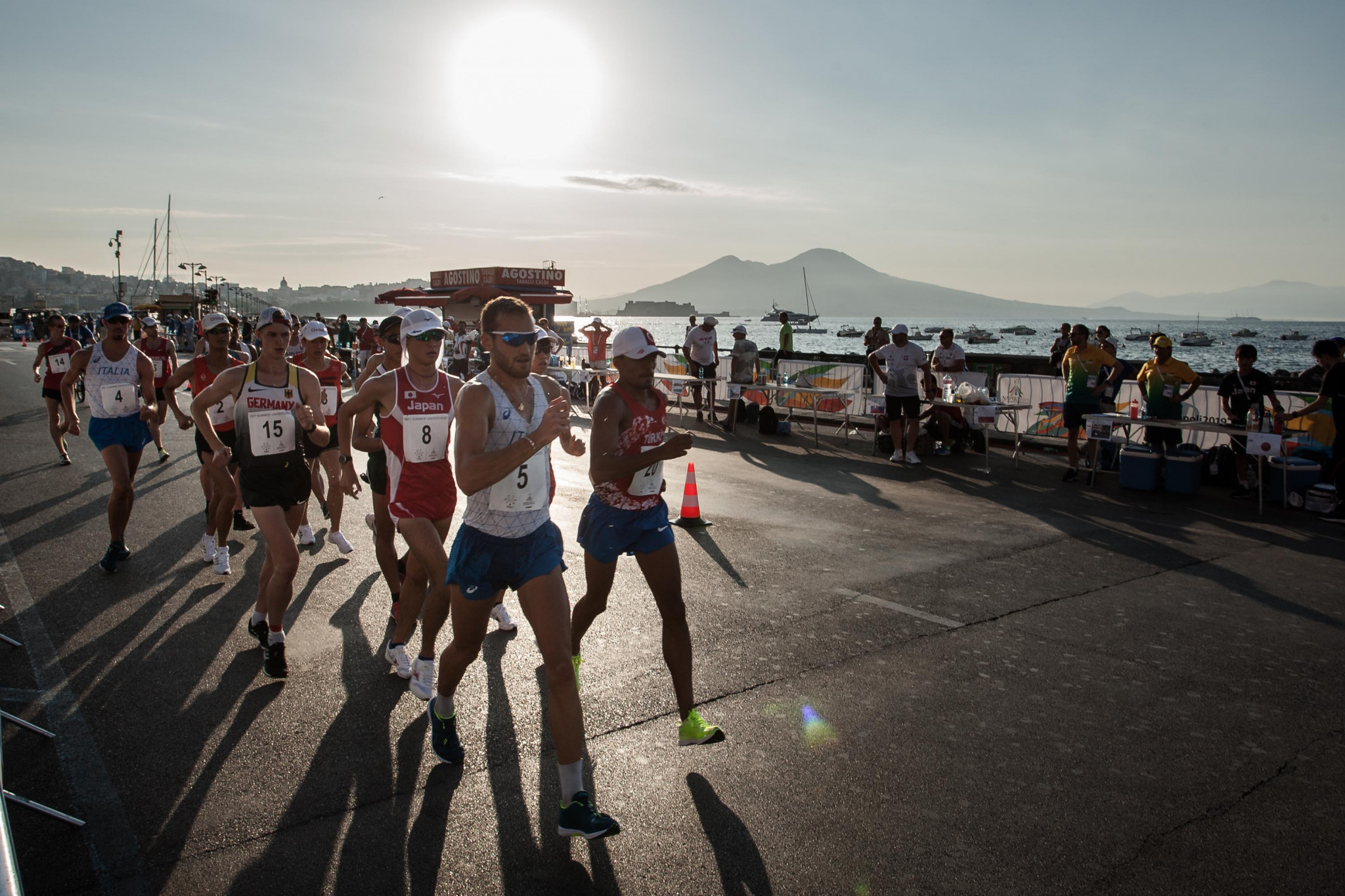 Japanese athletes monopolise 20km race walk podium at Naples 2019