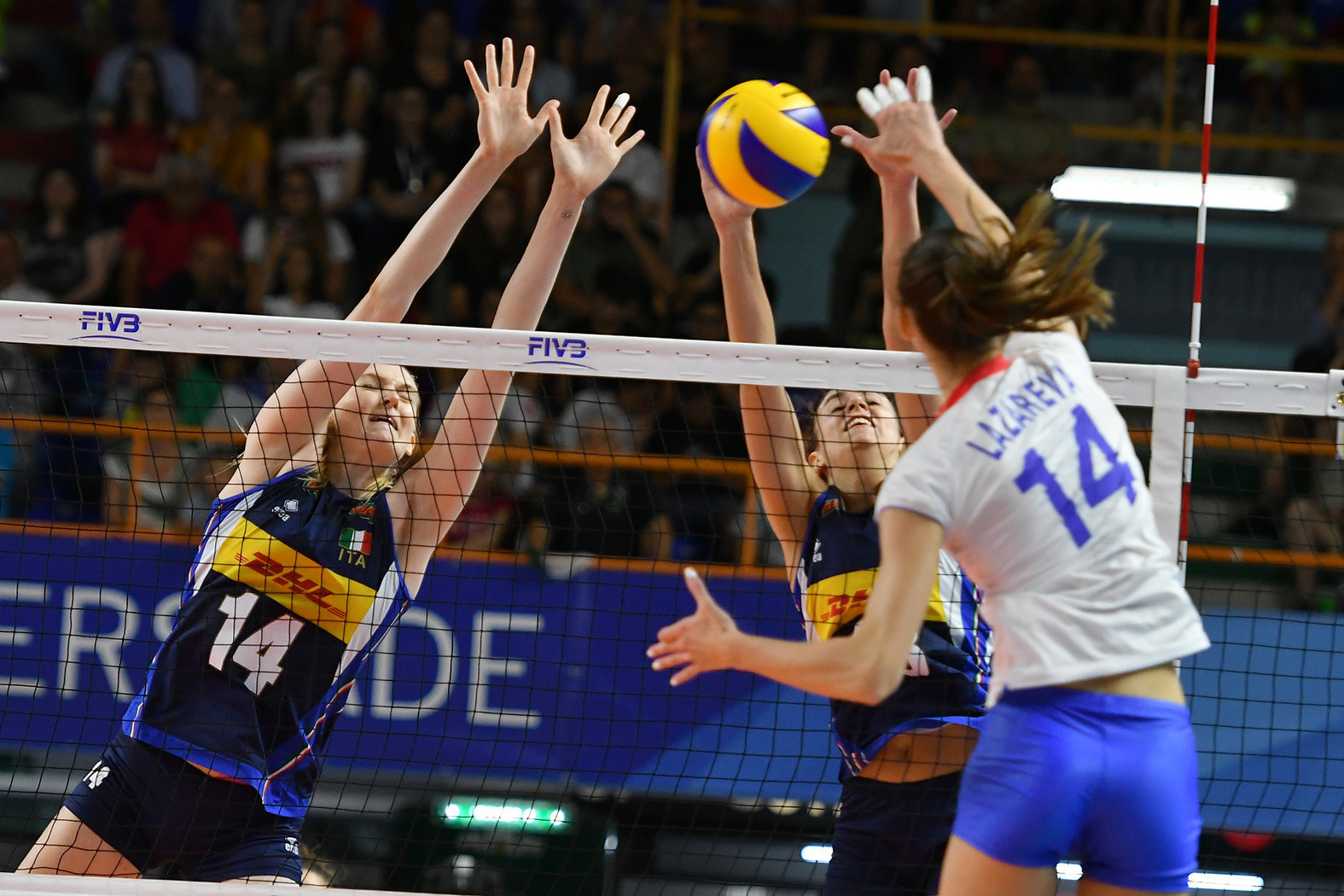 Heartbreak for hosts as Russia retain women's volleyball Universiade title