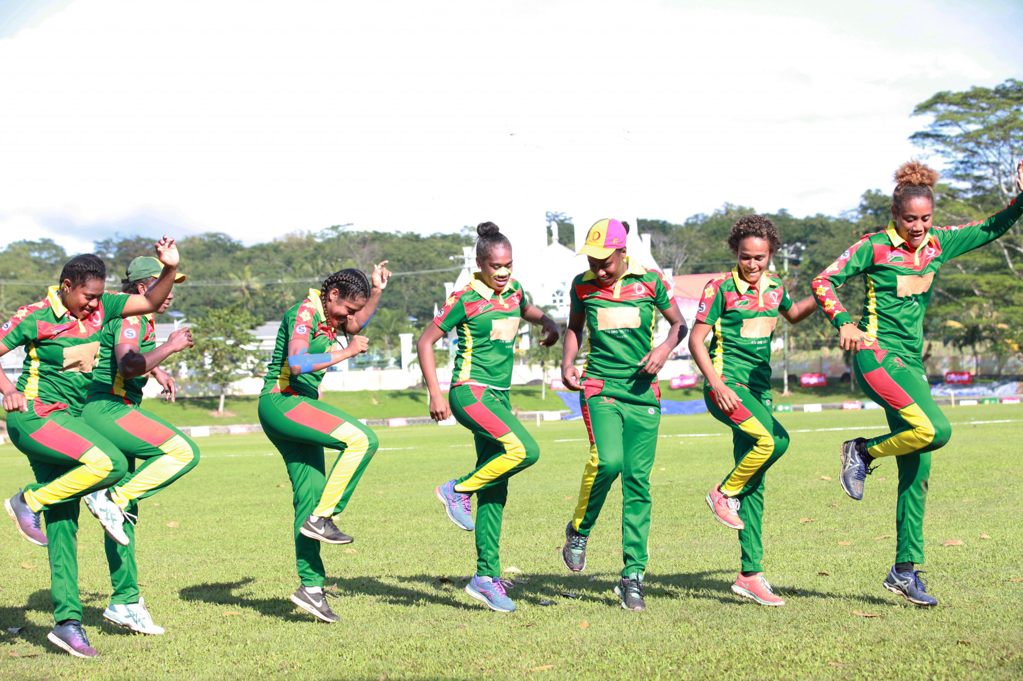 Vanuatu have won the bronze medal in the women's cricket at the 2019 Pacific Games ©Samoa 2019