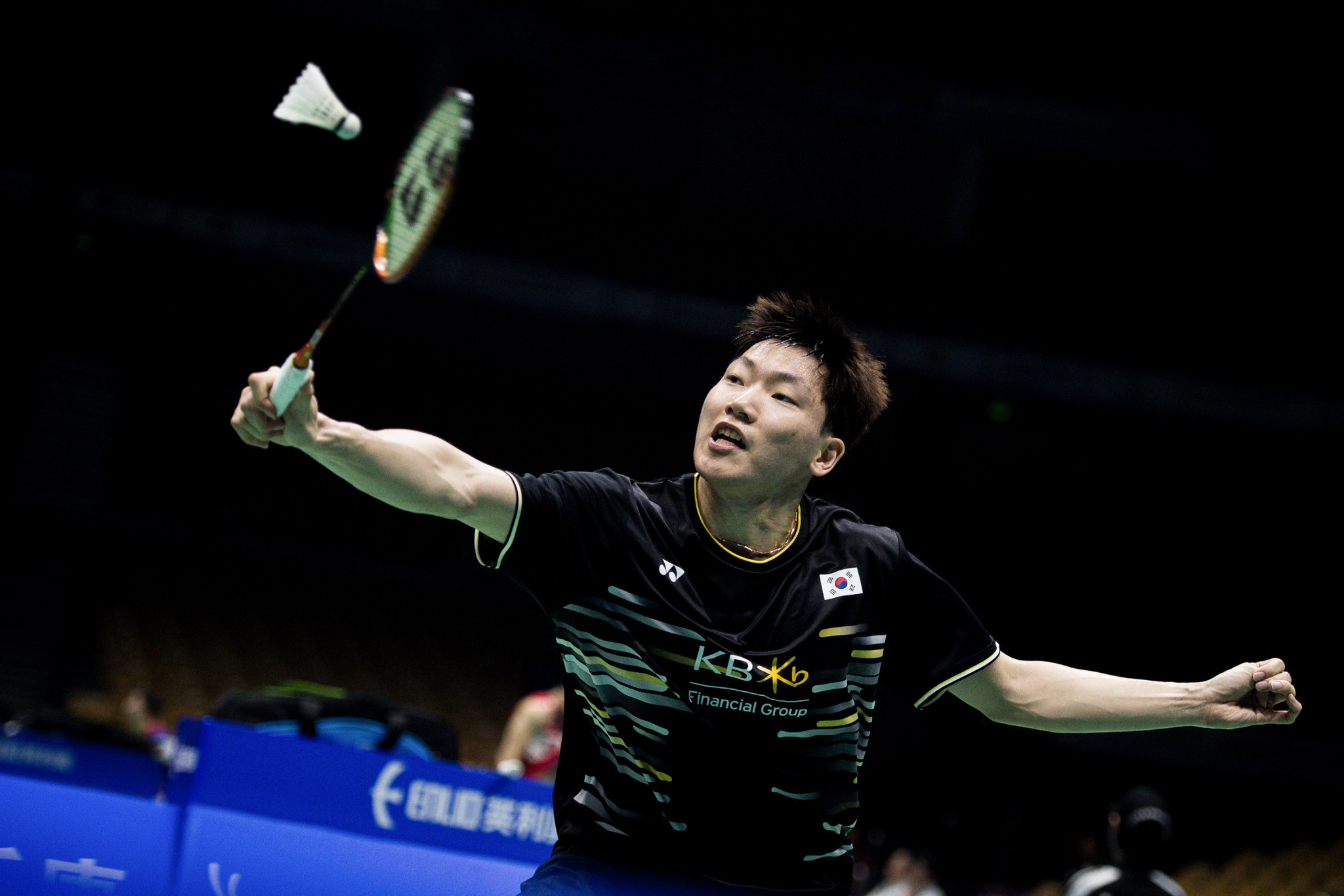 Number one seed Lee Dong-keun is out of the BWF US Open ©Getty Images