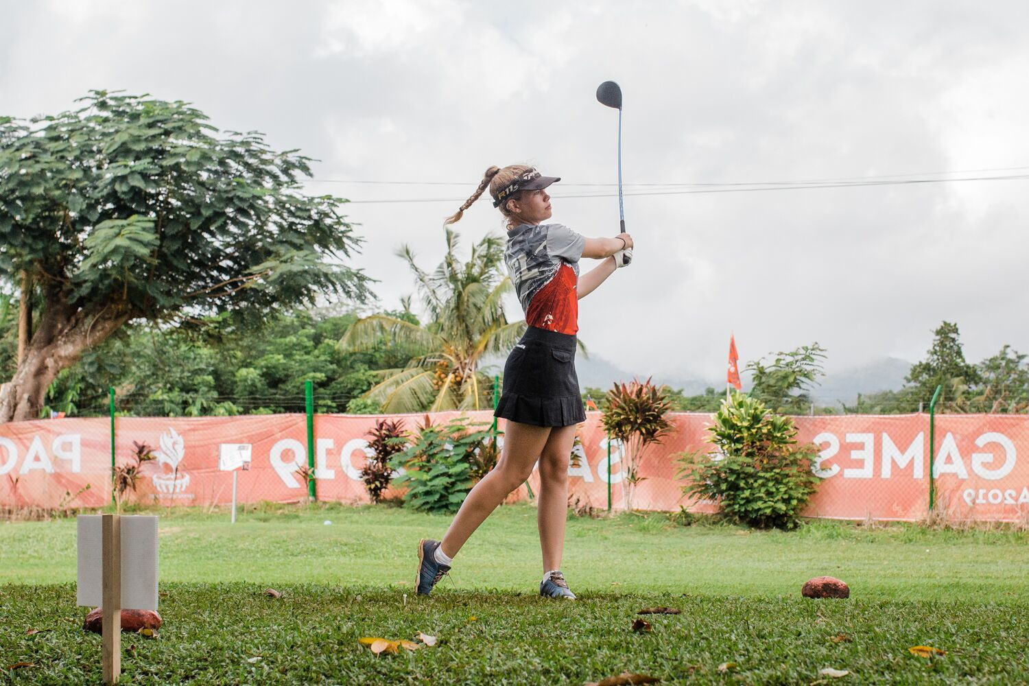 The sixth day of competition overall was also the final day in the golf ©Samoa 2019