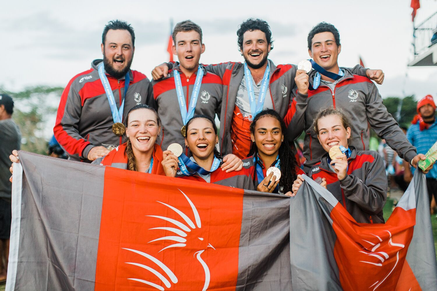 New Caledonia won all four golf golds to tighten their grip on the medal table ©Samoa 2019