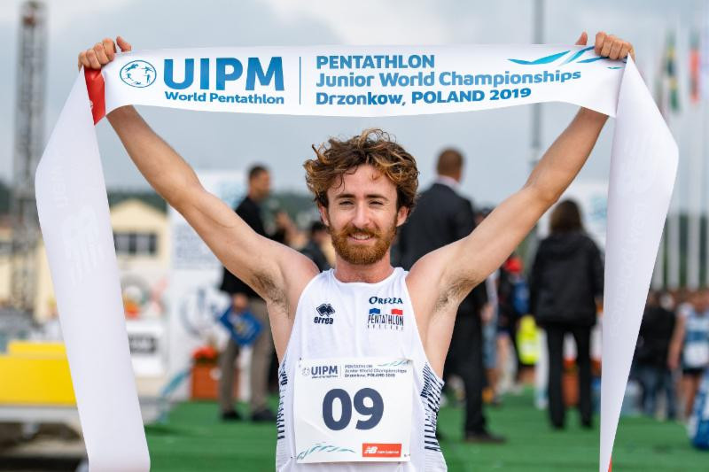 Storming laser run sees Frenchman claim UIPM Pentathlon Junior World Championships men's title