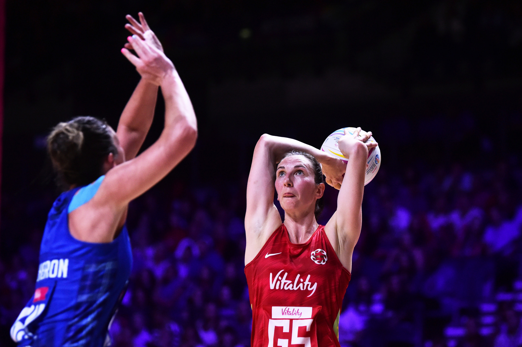 England and Australia continue unbeaten starts at Netball World Cup
