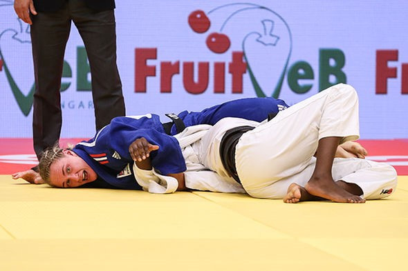 Britain's Howell ends long wait for IJF World Tour title at Budapest Grand Prix