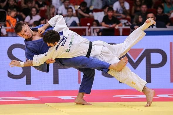 Kosovo's Akil Gjakova struck gold in the men's under-73kg category ©IJF