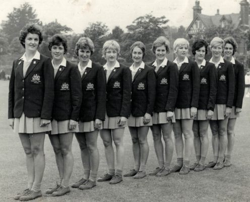 Australia won the inaugural Netball World Cup in 1963, captained by Joyce Brown, coach of the 1991 World Cup-winning Australian side ©England Netball