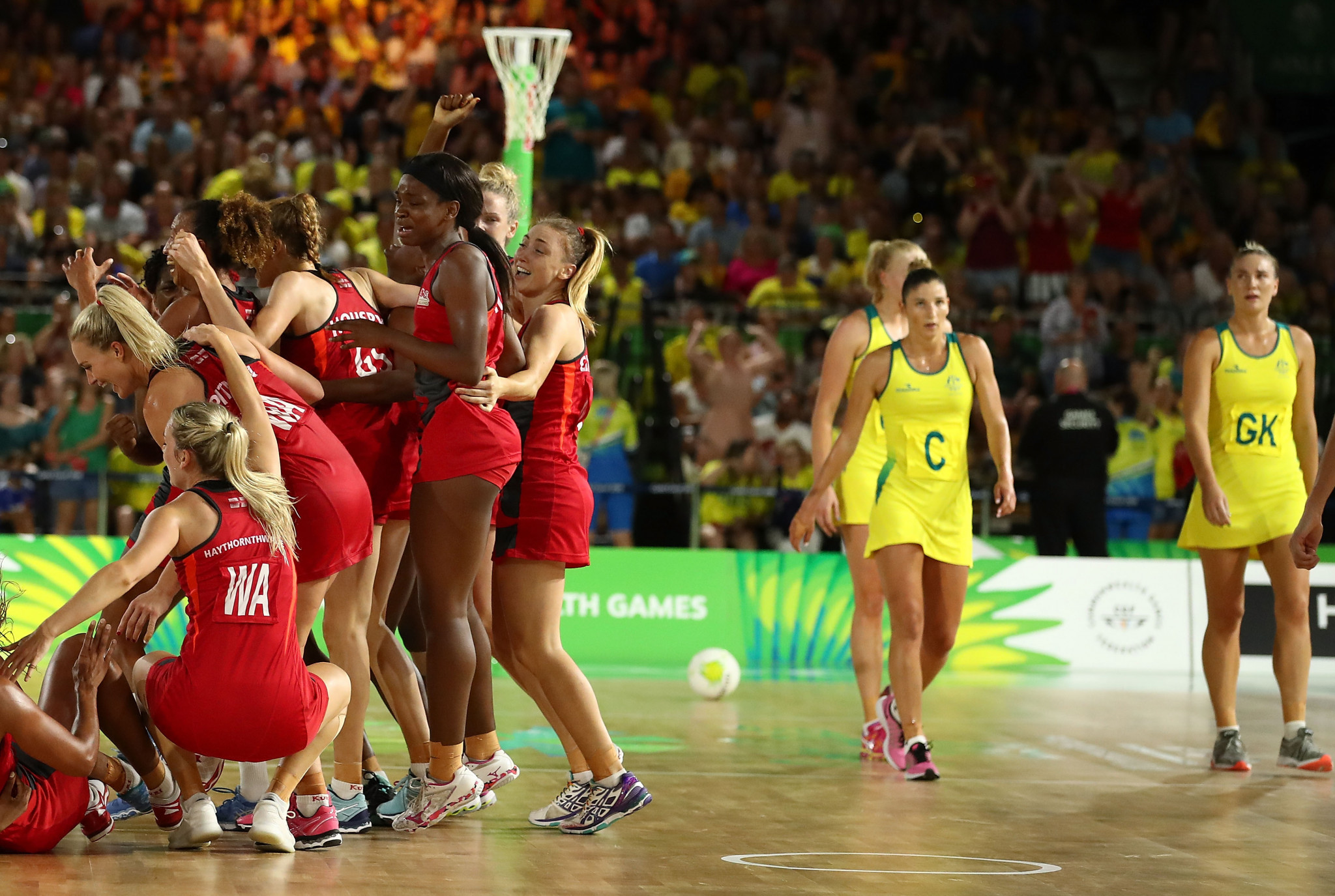 England's last-gasp victory in the 2018 Gold Coast Commonwealth Games netball final was attributed to the inclusion of English players in the Australian domestic league ©Getty Images