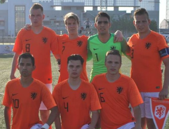 Dutch courage not enough as Ukraine storm into semi-finals at IFCPF World Cup
