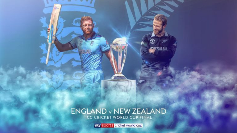 Sky Sports, the broadcasters of live matches in the ICC Men's World Cup in the United Kingdom, have agreed they will share coverage of England's final against New Zealand at Lord's in London with Channel 4 on free-to-air ©Sky Sports