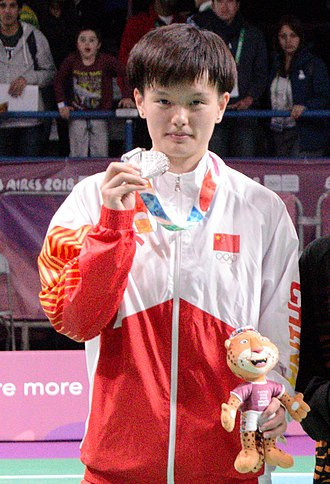 Buenos Aires 2018 silver medallist Wang Zhiyi  reached a second final in a row ©Wikipedia