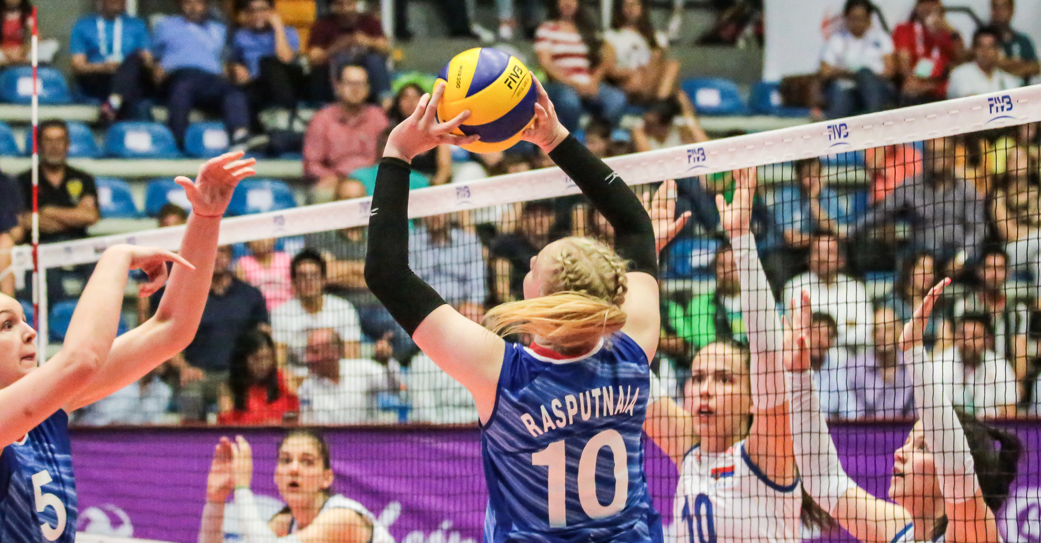 Russia recorded a second win from as many outings ©FIVB