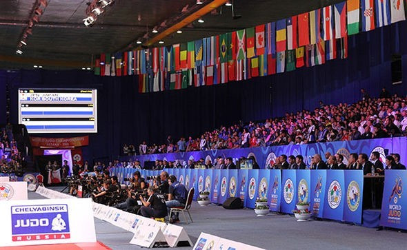 International Judo Federation announce record TV audience for World Championships