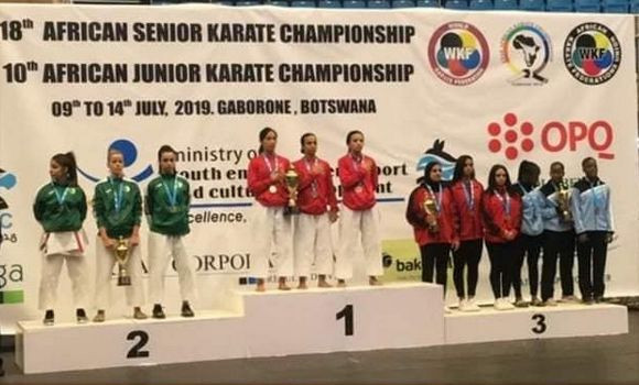 Morocco increase medal tally lead over Egypt after day two of the African Karate Championships