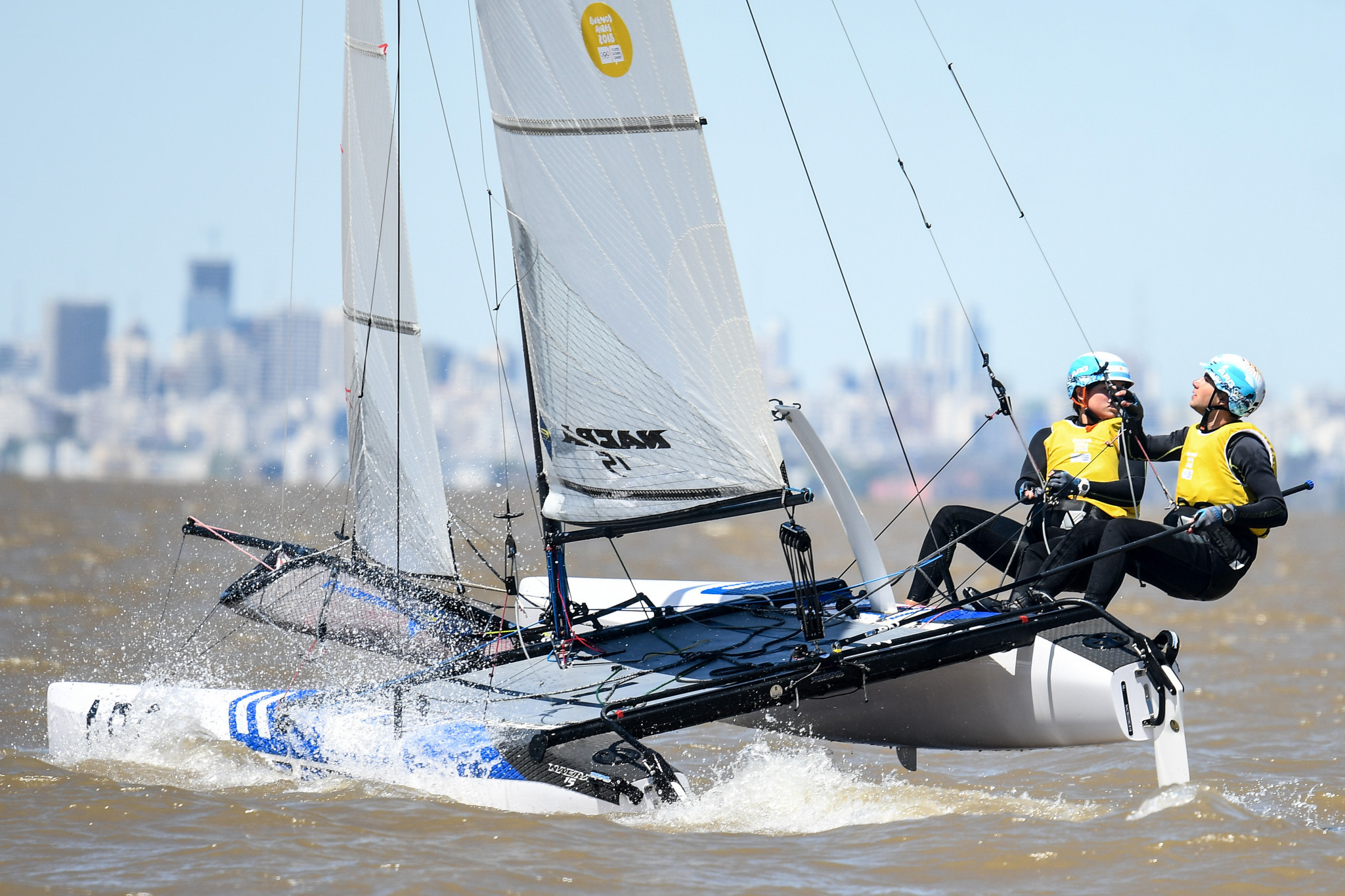 Dante Cittadini is a big hope for Argentina but is sailing with a new partner ©Getty Images