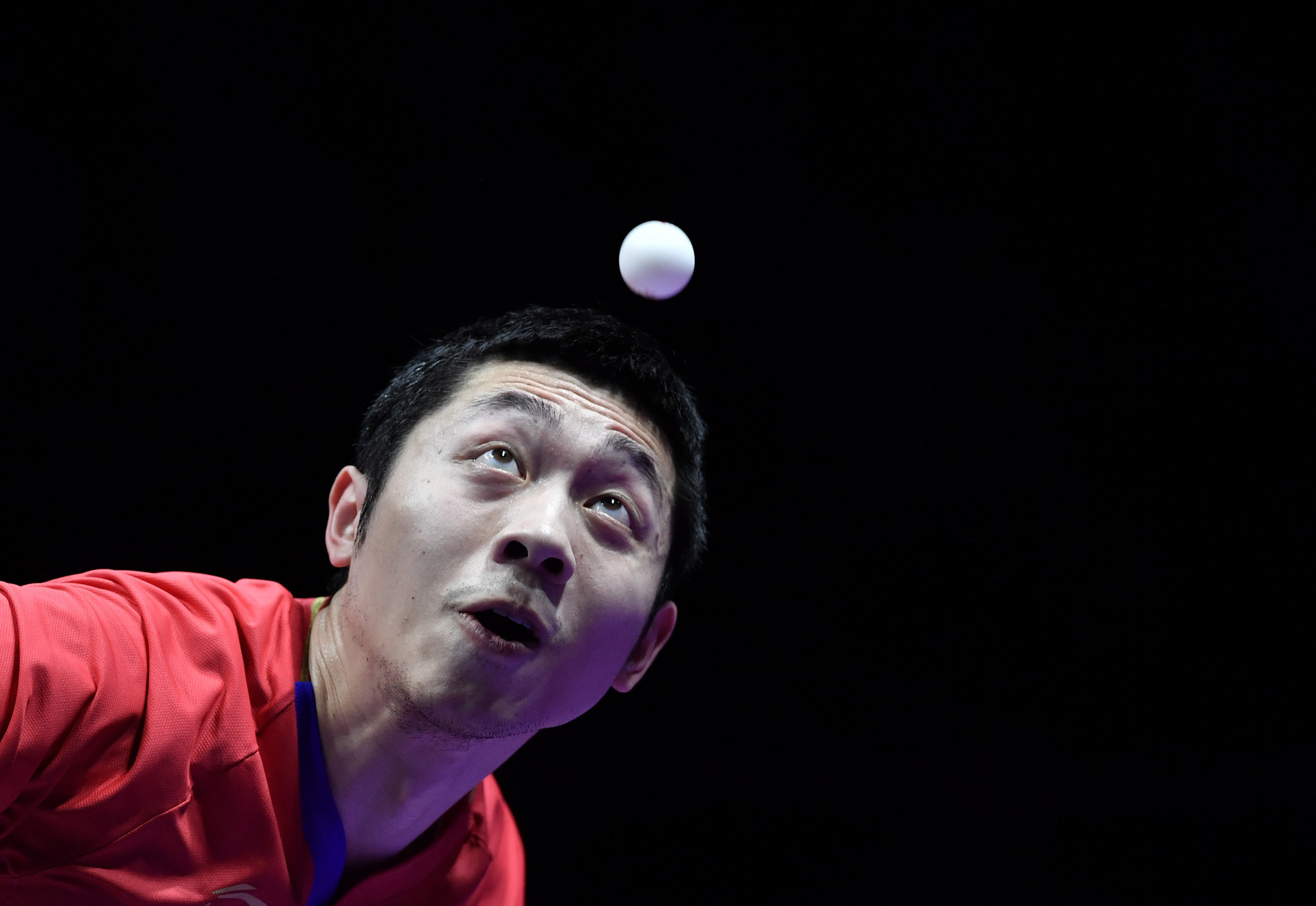 Xu Xin won his third World Tour event in a row ©Getty Images
