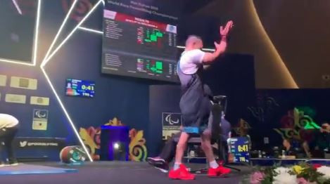 Double gold for Egypt on day two of World Para Powerlifting Championships in Nur-Sultan