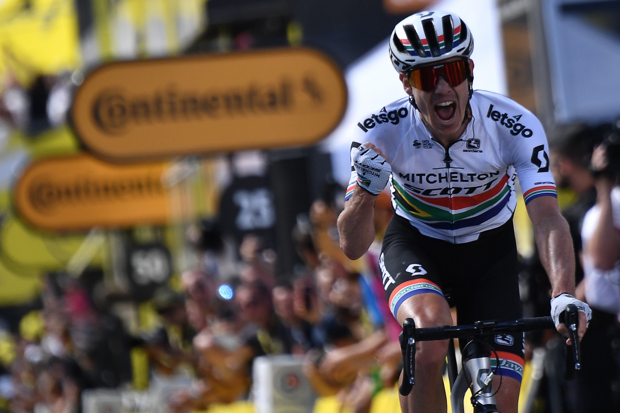 South Africa's Daryl Impey wins the Tour de France ninth stage ©Getty Images
