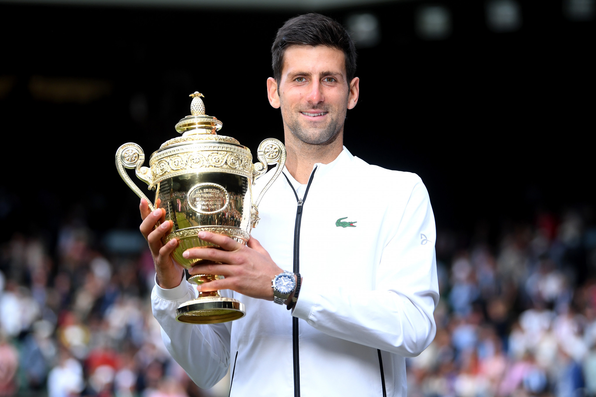 It was a fifth Wimbledon title for world number one Djokovic ©Getty Images