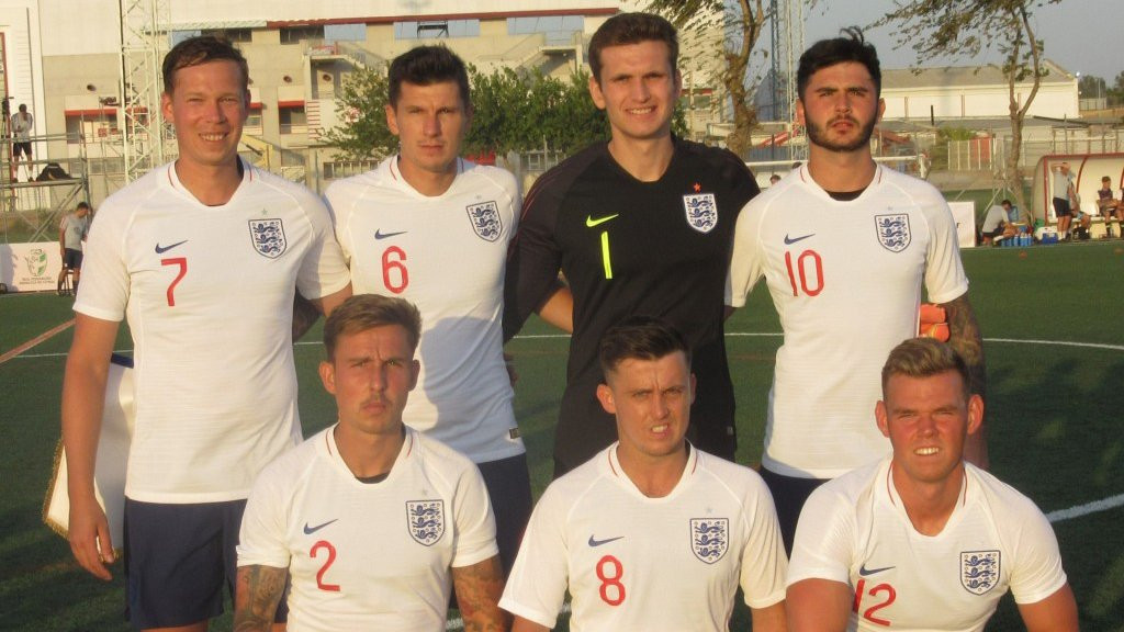 Crossen's quick-fire treble helps England reach IFCPF World Cup semi-finals