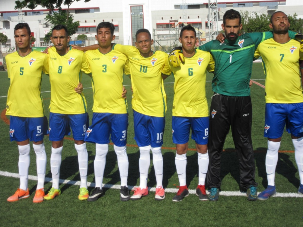 Brazil have reached the semi-finals of the IFCPF World Cup ©IFCPF