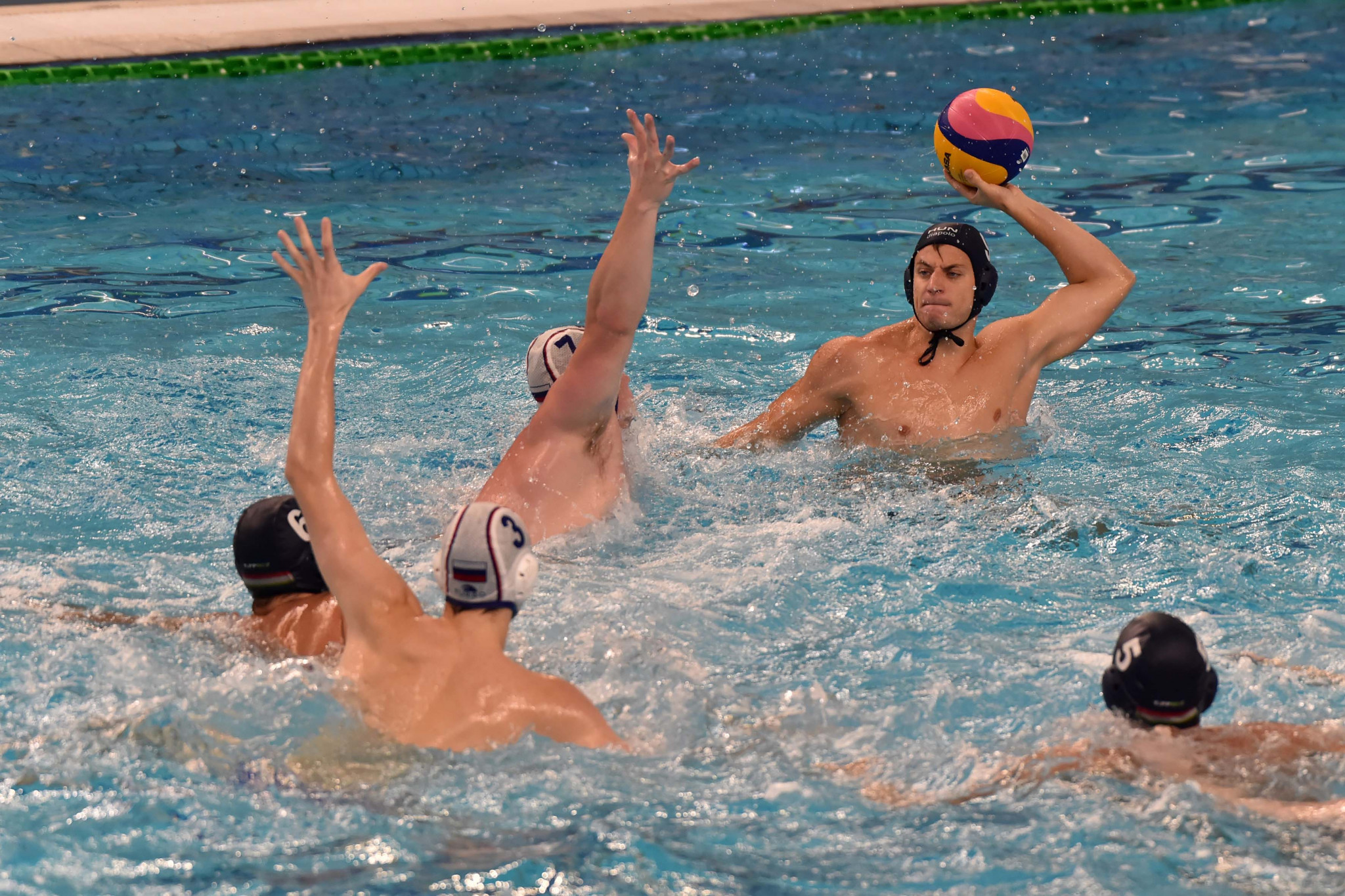 Hosts finish Naples 2019 on a high with water polo victory