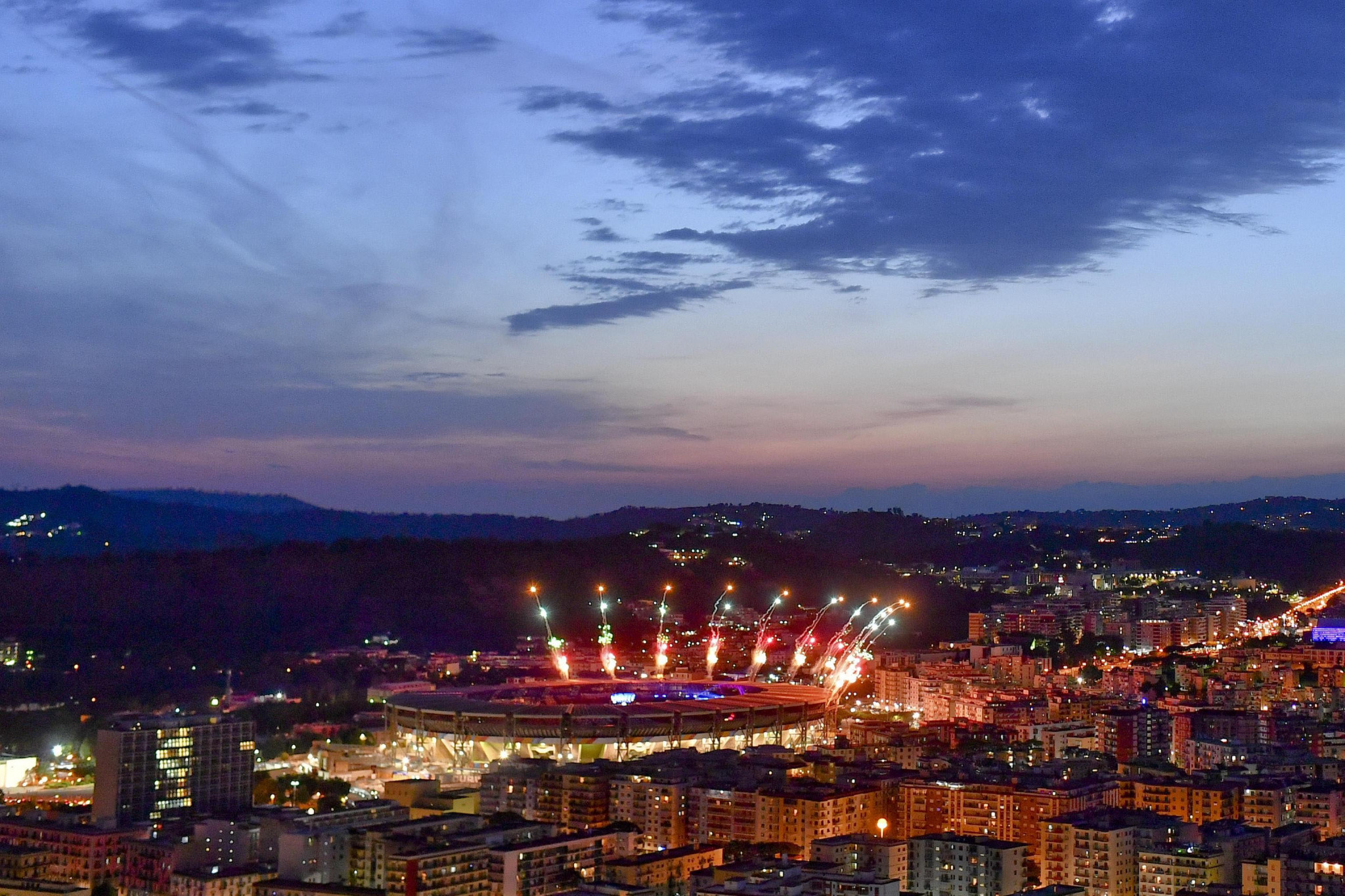 The 2019 Summer Universiade concluded at San Paolo Stadium in Naples ©Naples 2019