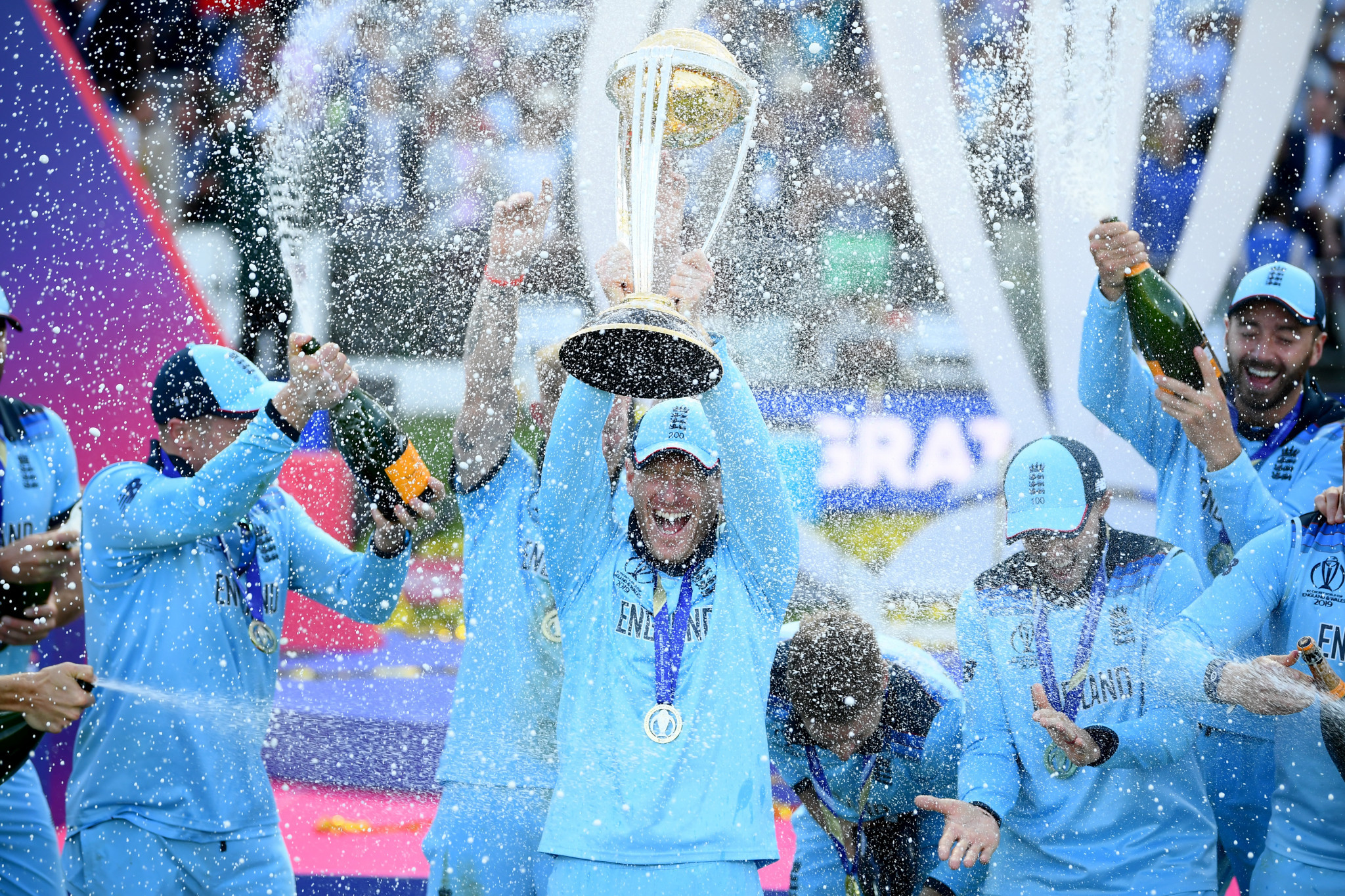 England crowned cricket World Cup champions after amazing victory over New Zealand