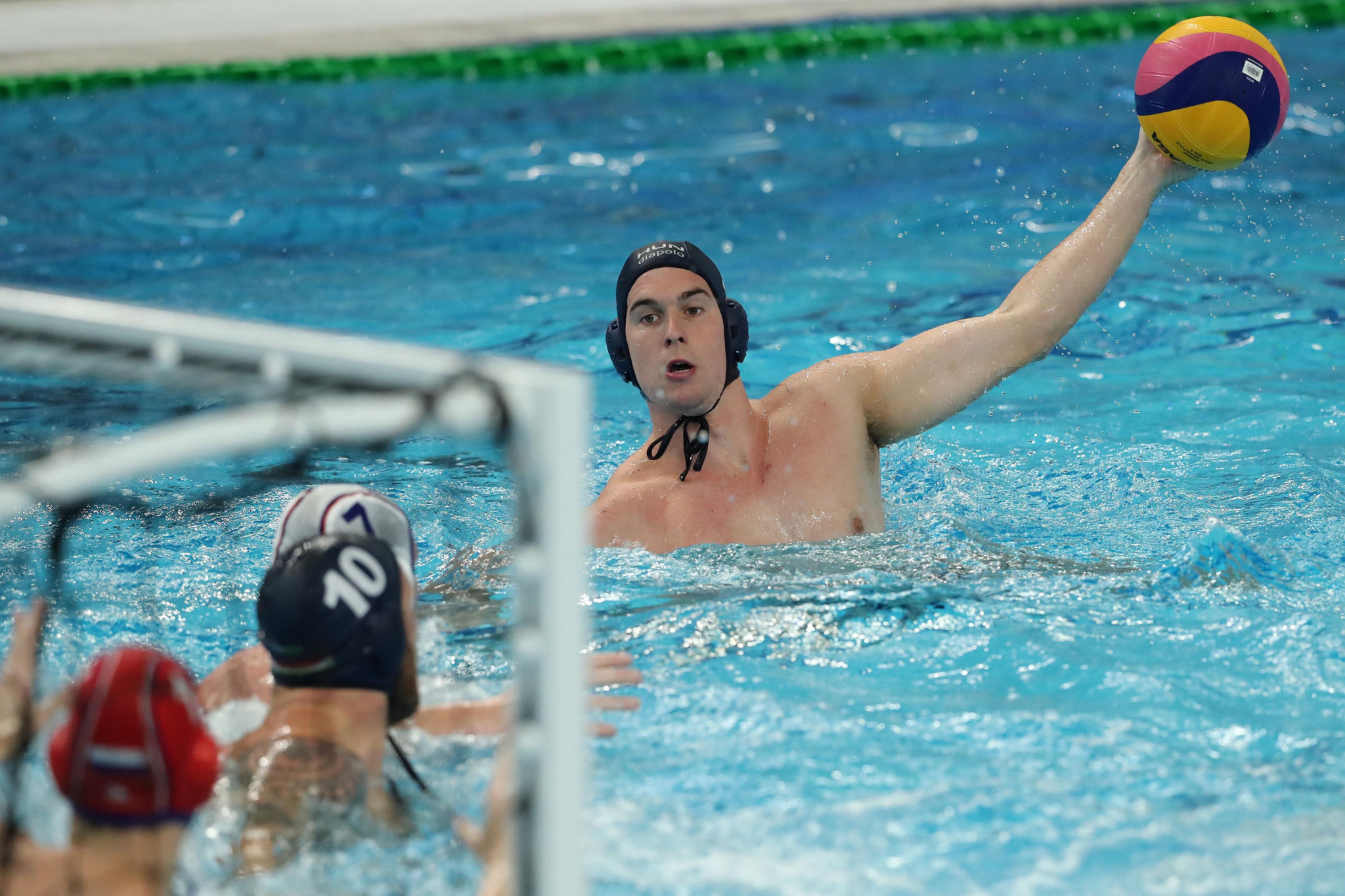 Serbia won water polo gold in Chinese Taipei in 2017 but did not defend their title in Naples ©Getty Images