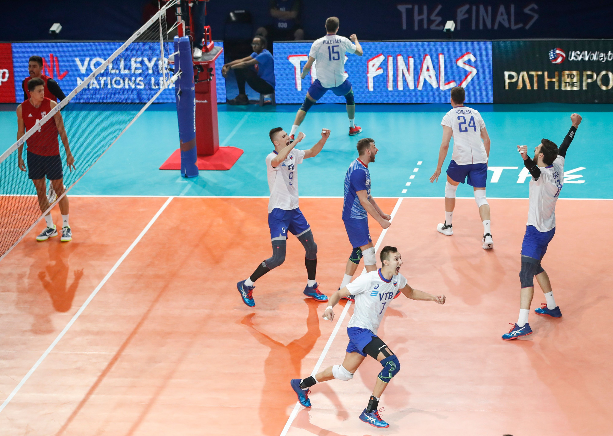 Russia successfully defended their title with victory in Chicago ©Getty Images