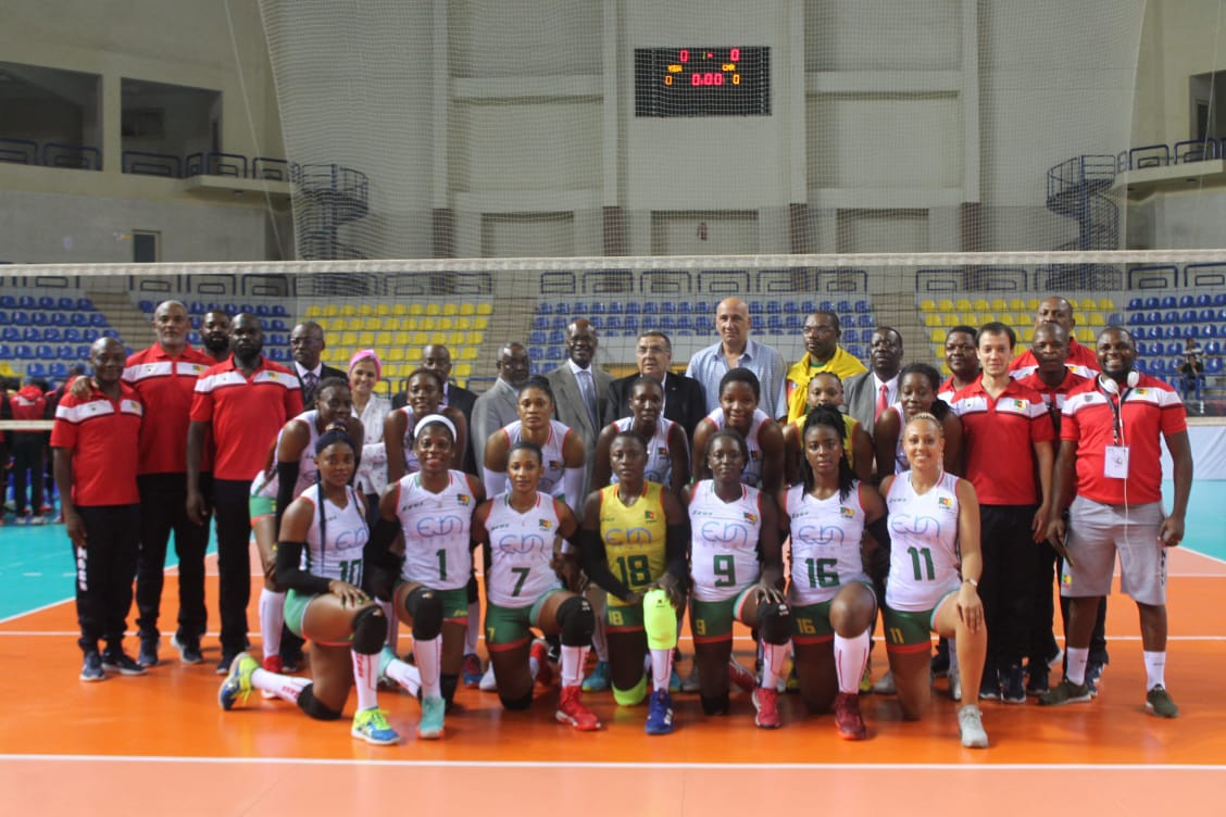 Cameroon beat Kenya in five sets to retain their title in Egypt ©CAVB