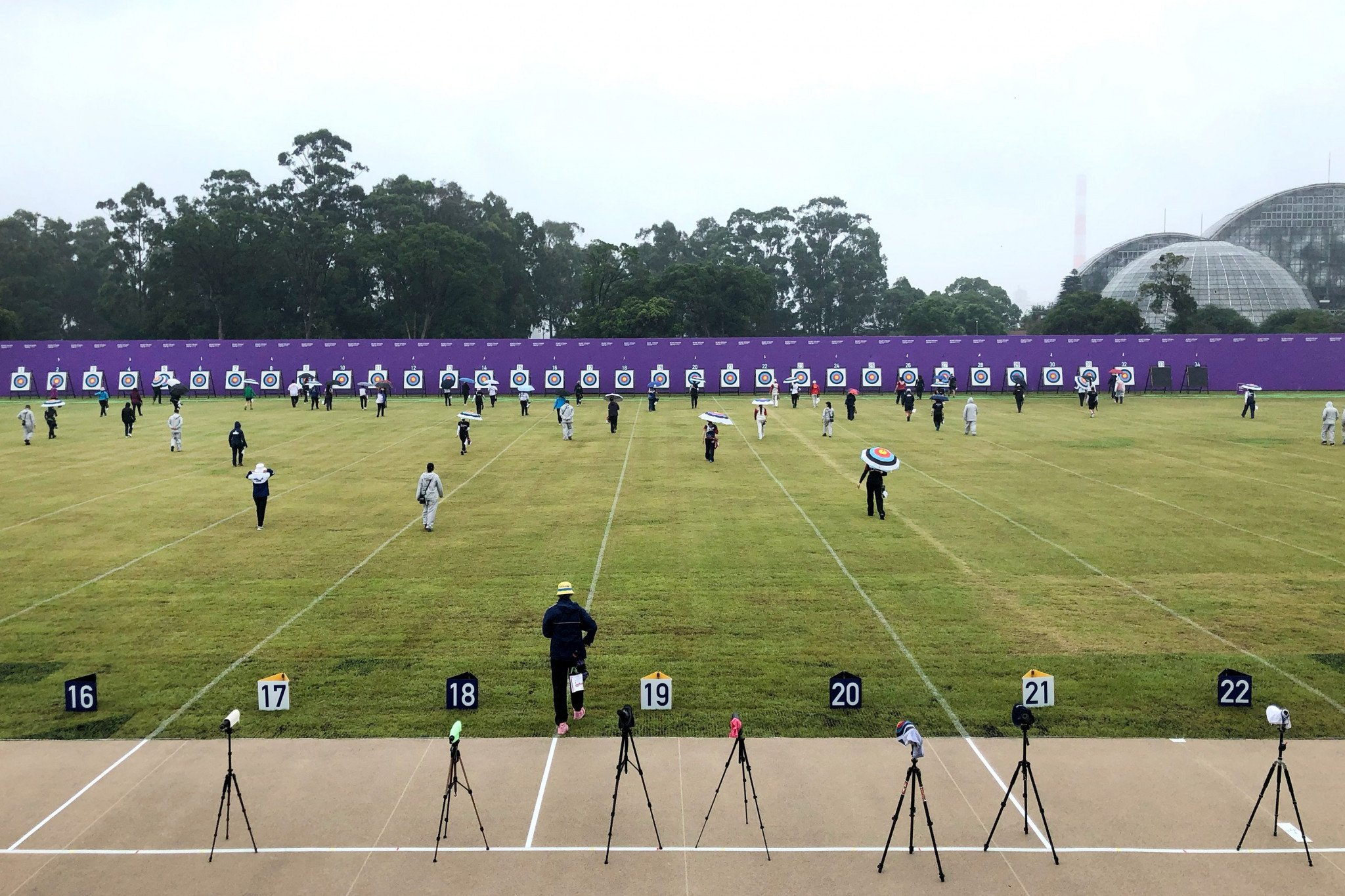 An investigation has been launched following the incident at the Tokyo 2020 test event ©World Archery